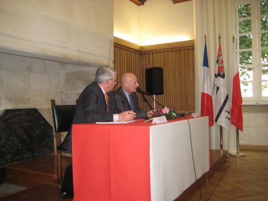Son Excellence Mr Tomasz Orlowski, Ambassadeur de Pologne en France 01/02/11