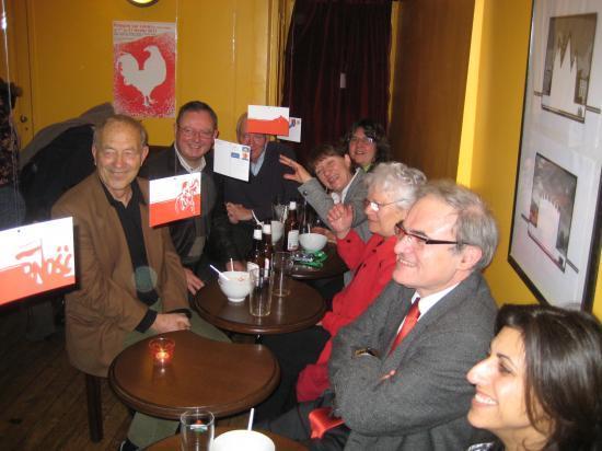Soupe polonaise entre partenaires 01/02/2011