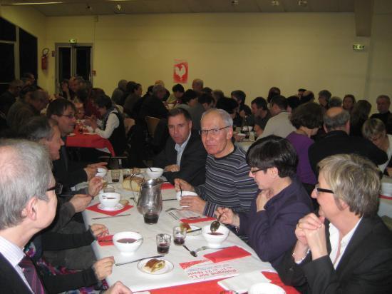 Soirèe à la Chapelle sur Erdre avec Mr le Maire 08/02/2011