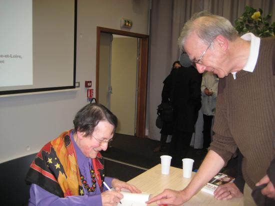 Conférence de Janine Ponty à Angers 10/02/2011