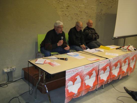 Ancien Comité de soutien de La Chapelle sur Erdre à Solidarnosc en 1982. 18/02/2011